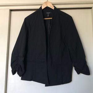 THE black blazer